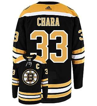 innovative design bfa06 7cbb4 adidas Zdeno Chara Boston Bruins Authentic Home NHL Hockey Jersey