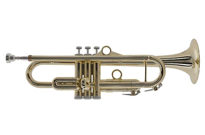 pInstruments Trumpet in Gold