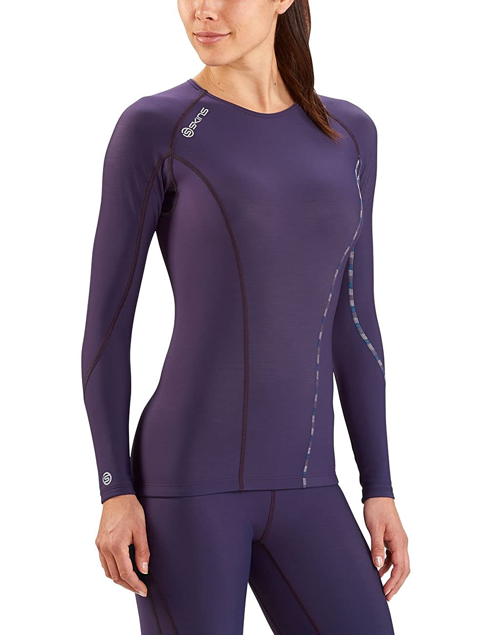Skins Mens DNAmic Thermal Long Sleeve Compression Top