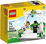 Lego LEGO 40165 Wedding Favor Set wedding celebration set wedding bride and groom celebration set 89 piece [parallel import goods]