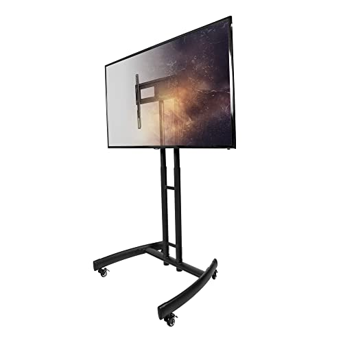 Kanto MTM55 Mobile TV Stand with Mount for 32 to 55 inch Flat Panel Screens – Black