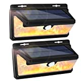 Solar Lights Outdoor, LEDMEI 2-Pack Solar Motion