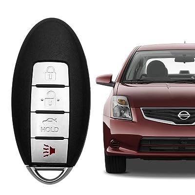 VOFONO Car Smart Key Fob Keyless Entry Remote Replacement for 2007-2008 Nissan Maxima, 2007-2012 Sentra (CWTWBU735), Set of 1: Car Electronics