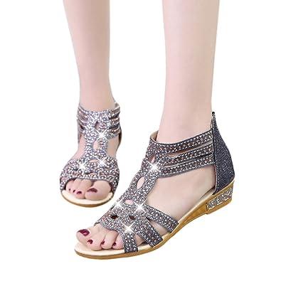 5b85f3d114ae0 Summer Women Flat Rome Sandals ☆