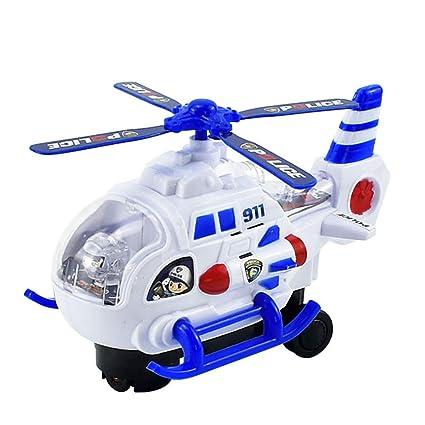 Amazon.com: Ktyssp Mini modelo de helicóptero de avión ...