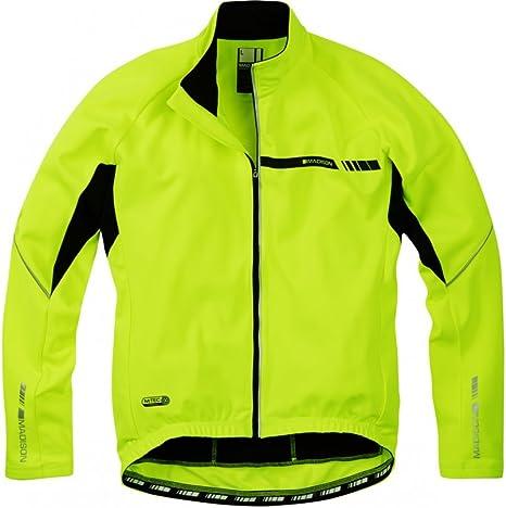 Royal Blue Madison Peloton Men/'s Long Sleeve Thermal Roubaix Jersey Jacket