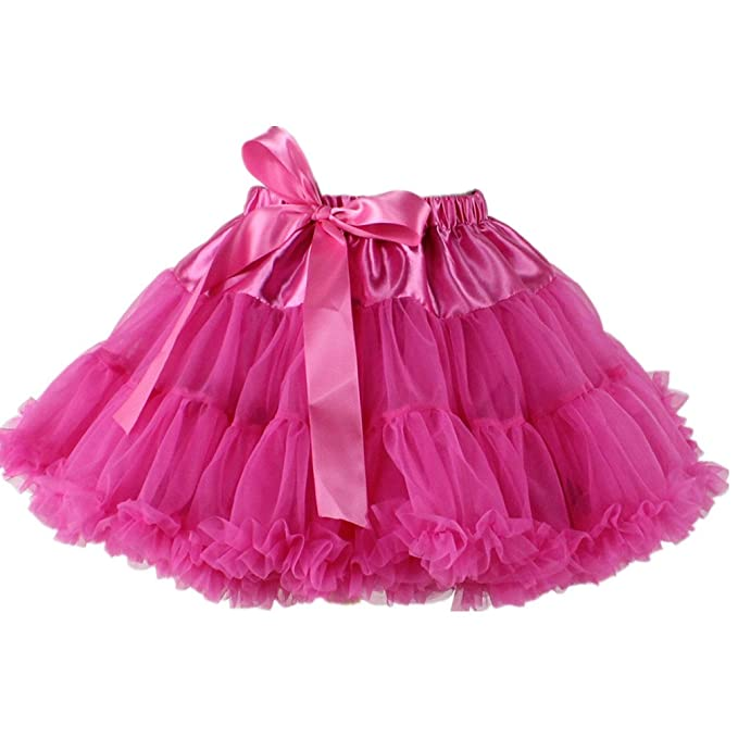 066fe21ab32b Amazon.com  DEMON BABY Cute Little Girl Princess Tutu Skirt Dance ...