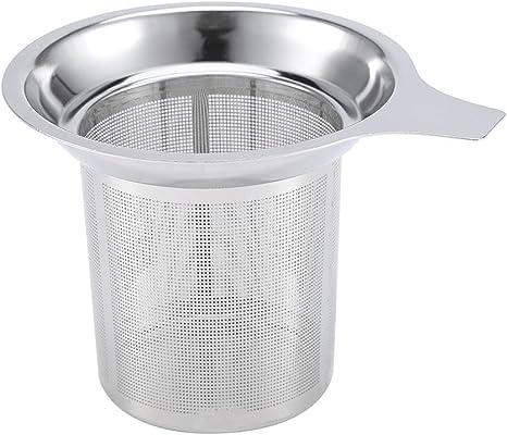 Loose Reusable Spice Leaf Filter Stainless Steel Mesh Tea Strainer Infuser