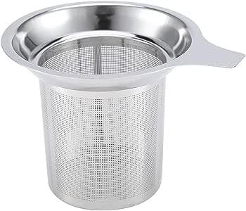 Tea Infuser Tea Strainer Stainless Steel Mesh Tea Infuser Reusable Cup Strainer Loose Leaf Spice Filter for Hanging on Teapots Mugs Cups to Steep Loose Leaf Tea Coffee
