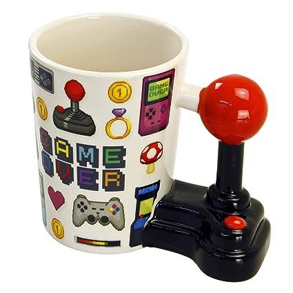 Frutitoscom Puckator Mug Game Over Avec Poignée En Forme