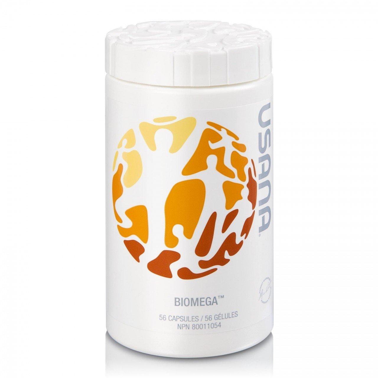 USANA Biomega Fish Oil Dietary Supplement (56 Capsules)