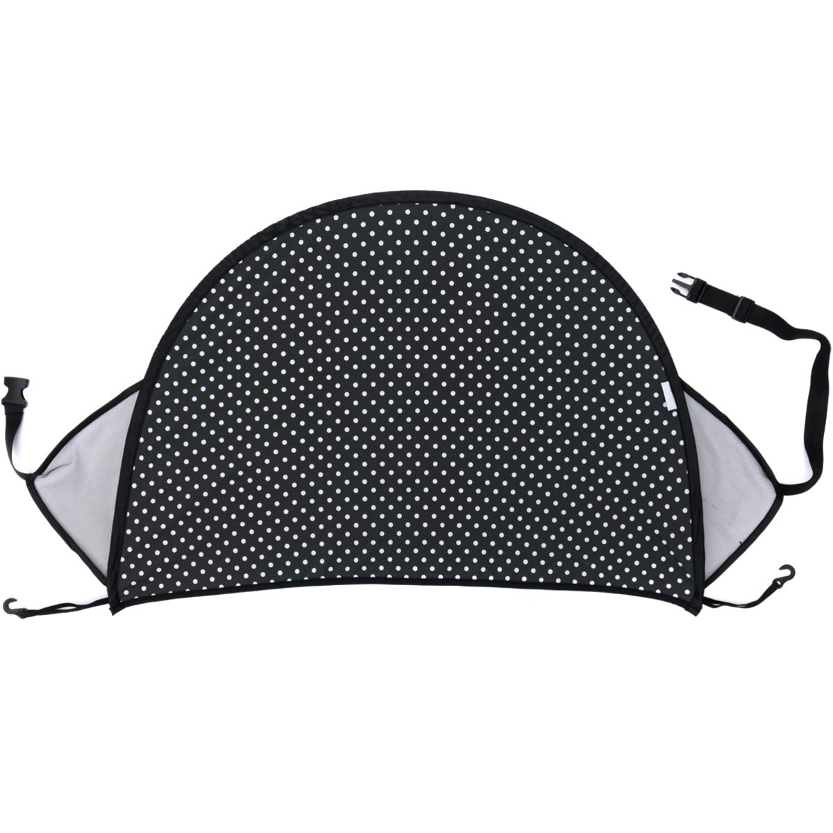 Universal f/ür Buggy Sportwagen Kinderwagen mit Tasche Baby Kinder Sonnenverdeck Sonnenschutz UV 50 GRAU