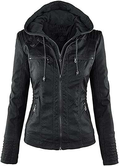 Jackets   Moncler Down Fashion Mock Collar And Removable Cap