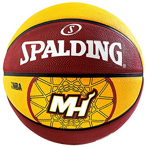 Spalding Miami Heat Basketball Outdoor Size 29.5""