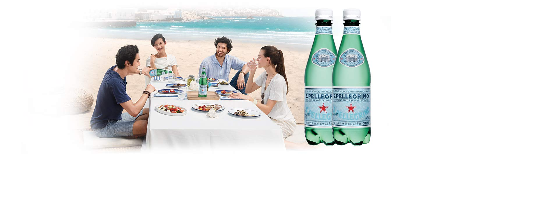 S.Pellegrino Sparkling Natural Mineral Water, 16.9 fl oz. (24 Count) by San Pellegrino (Image #2)
