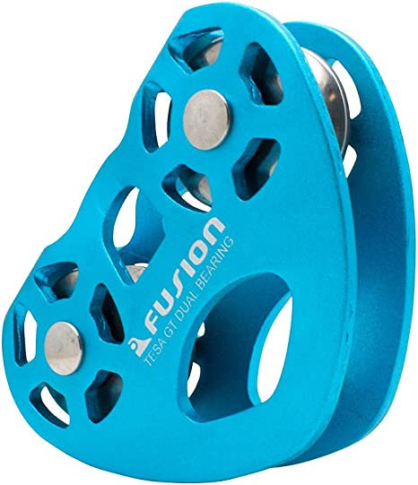 HIGH SPEED COMMERCIAL ZIP WIRE TROLLEY PULLEY FOR ZIP WIRE KITS ROCK CLIMBING