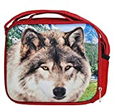 8'' 3D FOAM WOLF LUNCH PACK, Case of 12
