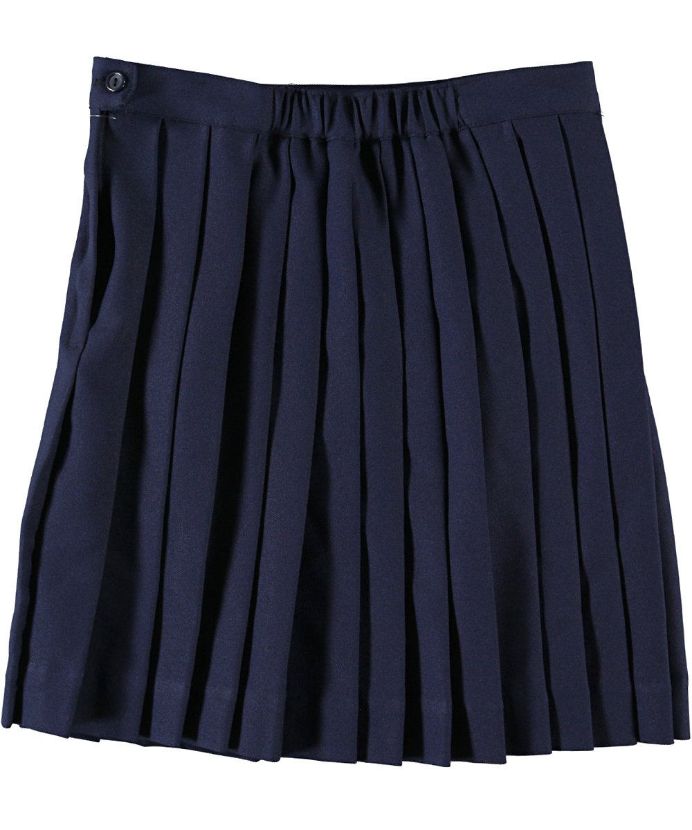 Cookie's Brand Girls' Plus Size Pleated Skirt - navy, 28.5