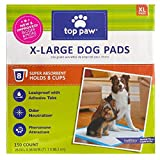 New and Improved Top Paw X-Large Dog Pads (150 count)