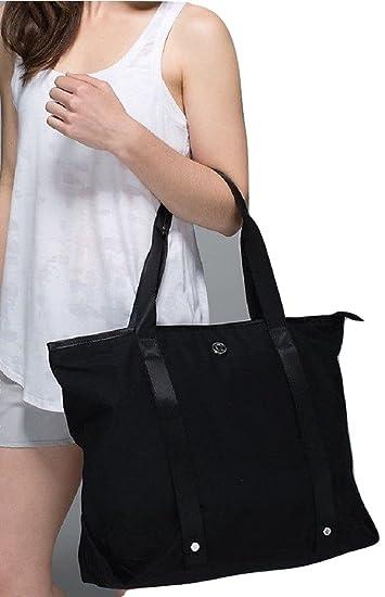 Amazon.com: Lululemon Summer Lovin Tote Bag Classic Black: Sports ...