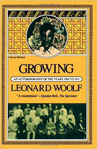 Growing An Autobiography Of The Years 1904 To 1911