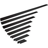 SOTECH aluminium meubelgreep SEARL 70 mm zwart handvat profiellijst ladegreep keukengreep