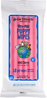 product image for Earthbath All Natural Grooming Wipes, Puppy - Pack of 1