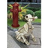 Design Toscano Fetch, the Skeleton Dog Statue