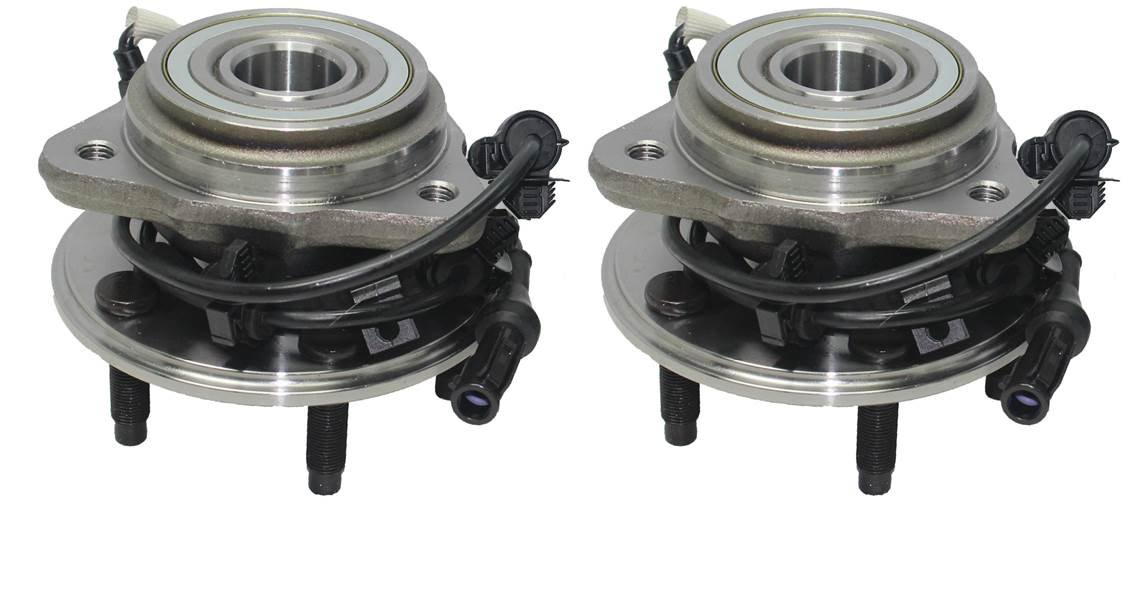 PartsW 10 Pcs Kit Front Wheel Bearing and Hub Assembly Inner Outer Tie Rod Ends Lower Ball Joints Sway Bar End Link by Parts Warehouse (Image #2)