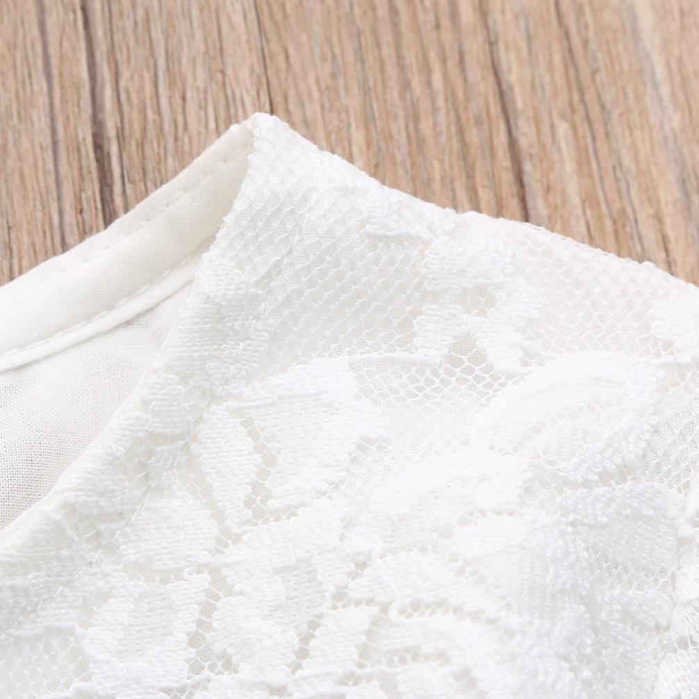 Tutu Fil Robe de Voyager Manches Longue Robe Fille de Princesse Mounter Robe B/éb/é Dentelle