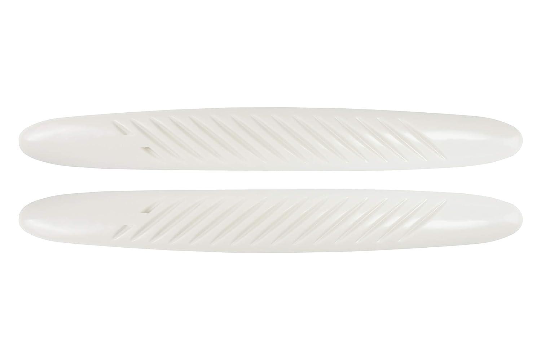 Stoppers EXT99037 Protezione Paraurti per Auto Bianco Set di 2
