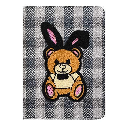 Case for iPad Mini, Zakao Cartoon Cookie Monster Cute Flip Stand PU Leather Lightweight Shockproof Kids Proof Protective Case for iPad Mini 4 3 2 1 (#46)
