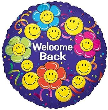 Kaleidoscop F17285 18 Folienballonwelcome Back Smile Amazonde