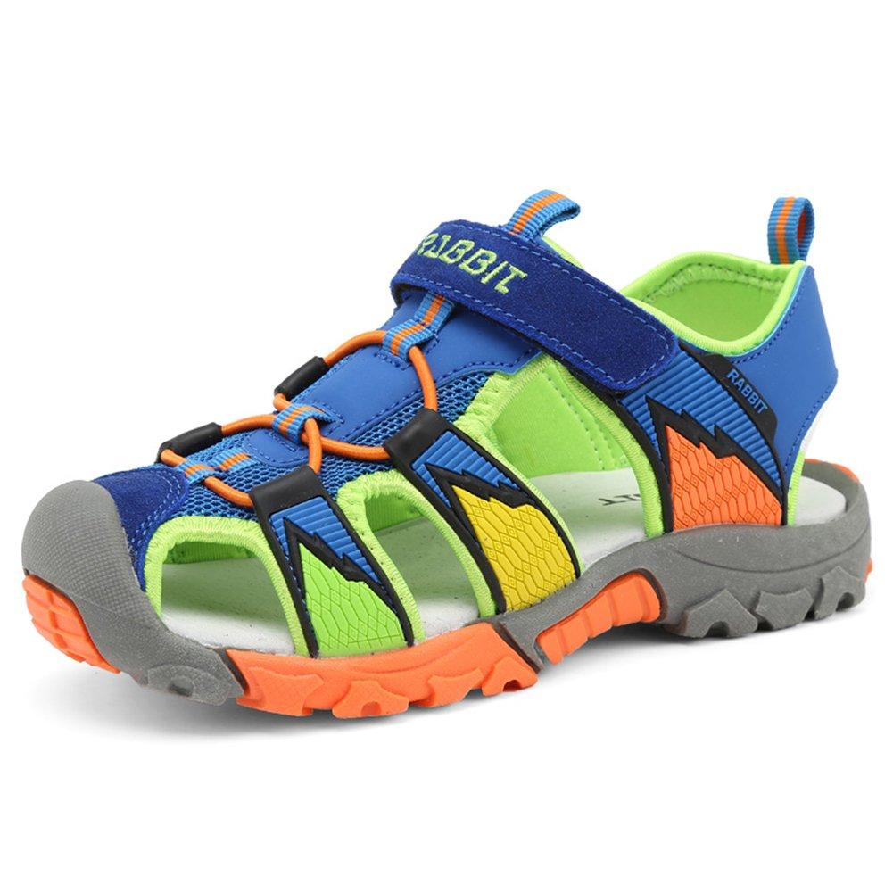 katliu Geschlossene Sandalen Jungen Outdoor Sport Trekking Wander Sommer Schuhe für Kinder