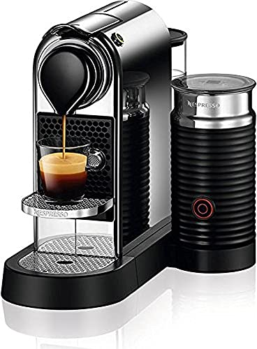 Nestle Nespresso Nespresso C122-US-CH-NE, Chrome Citiz Milk Espresso Machine, 2.6
