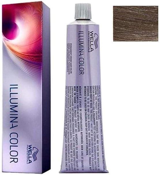 Wella Professionals Illumina Tinte Permanente, Tono 6/16 (Deal) - 50 ml