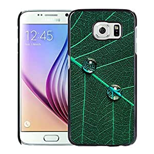 Green Leaf And Dew Durable High Quality Samsung Galaxy S6 Case