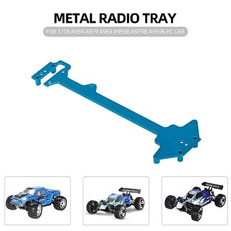 profitez de la livraison gratuite les dernières nouveautés nouveau style Amazon.com: Leslaur Radio Tray Metal for WLtoys 1/18 A959 ...
