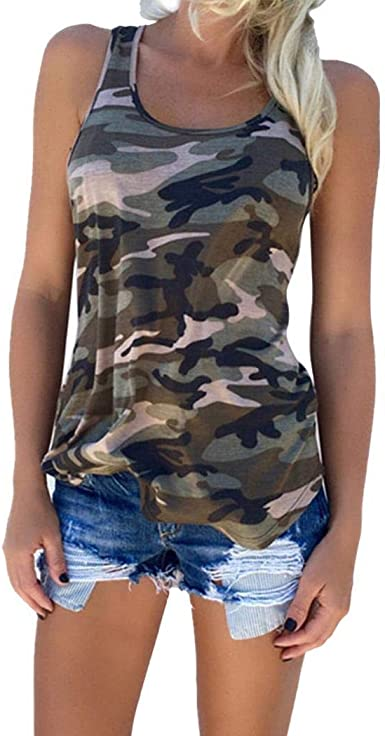 Zippem Women Casual V-Neck Sleeveless Solid Front Knot Tank Top Tanks /& Camis