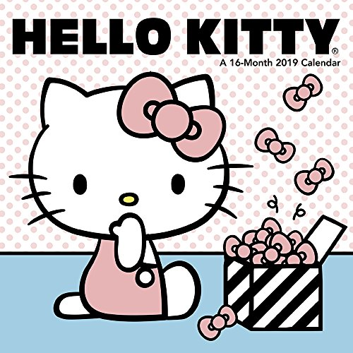 Hello Kitty Mini Wall Calendar (2019)