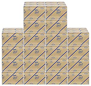 Scott C Fold Paper Towels (01510) with Fast-Drying Absorbency Pockets EevHO, 5Units (12 Pack)