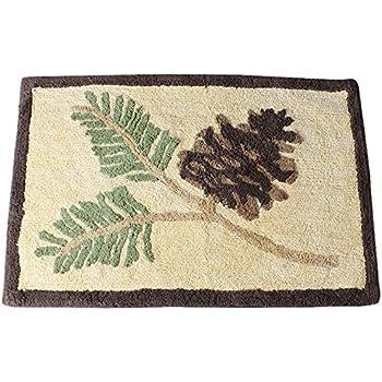 Amazon Com Hiend Accents Pine Cone Kitchen And Bath Lodge
