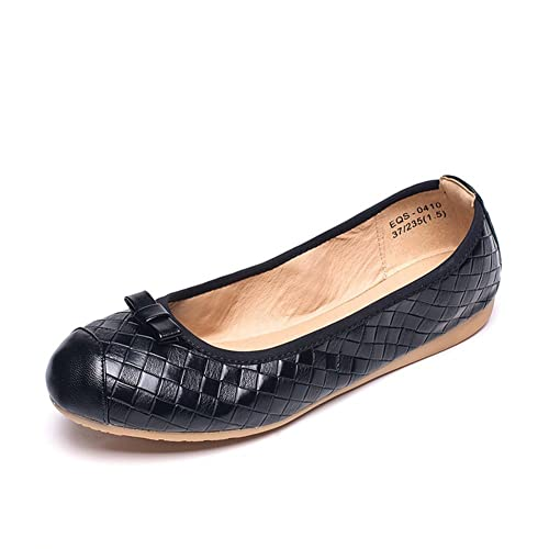 Loafer Flats - Mocasines de Charol para mujer, color, talla Length 24.8 cm (