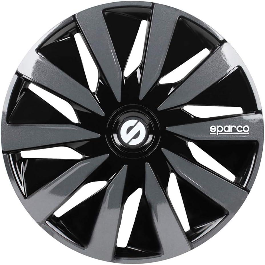 Sparco Jeu denjoliveurs Sicilia 16-inch Noir//carbon/é