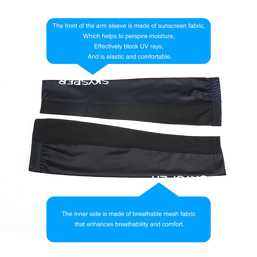 d81a54cdf7 Cooling Arm Sleeves, SKYSPER UV Sun Protection Compression Shooter Arm  Sleeves Baseball Football Basketball Cycling