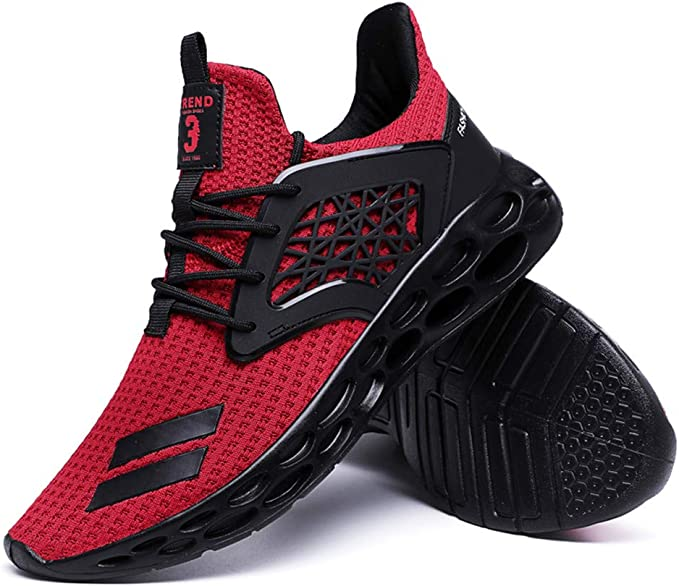 Darringls Zapatillas Deporte Hombre Zapatos para Correr Athletic Cordones Air Cushion Running Sports Sneakers 39-46: Amazon.es: Ropa y accesorios