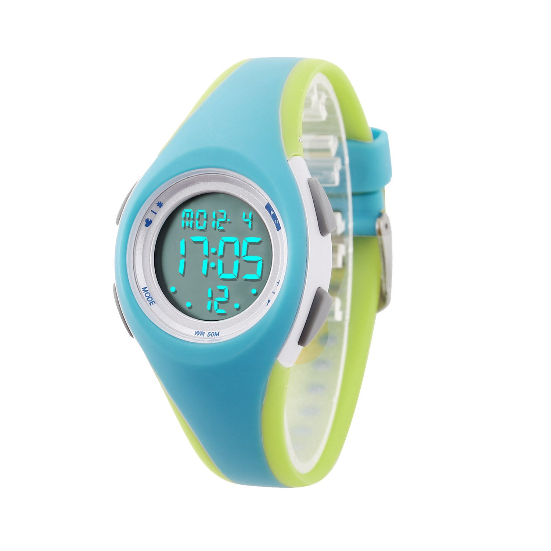 864d1d13d Amazon.com: Kids Digital Sport Watch Outdoor Waterproof Watch with Alarm  for Child Boy Girls Gift LED Kids Watch: Watches