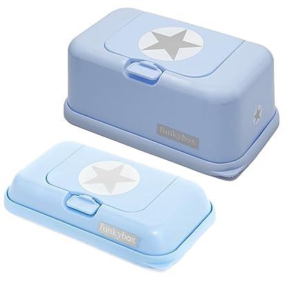 Set de Portatoallitas: FunkyBox Azul Estrella.