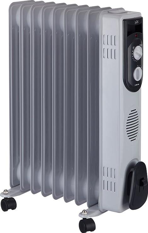 Jata R109 Radiador de aceite con 9 elementos caloríficos, 2000 W ...