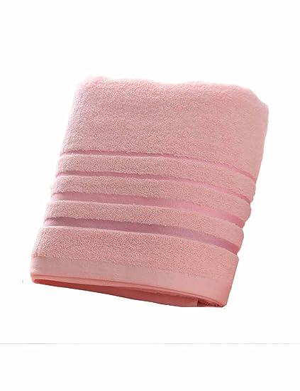 Toalla de algodón Simple Absorbente Toallas Suaves Grandes Modelos de otoño e Invierno Hombres y Mujeres